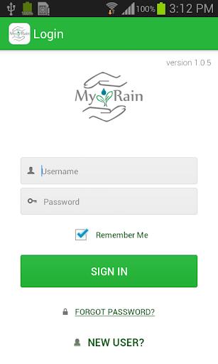 MyRain RainMaker App