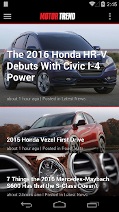 MOTOR TREND News- screenshot thumbnail