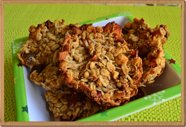 Fruit and Oatmeal Cookies Recipe