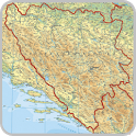 Maps of Bosnia and Herzegovina icon