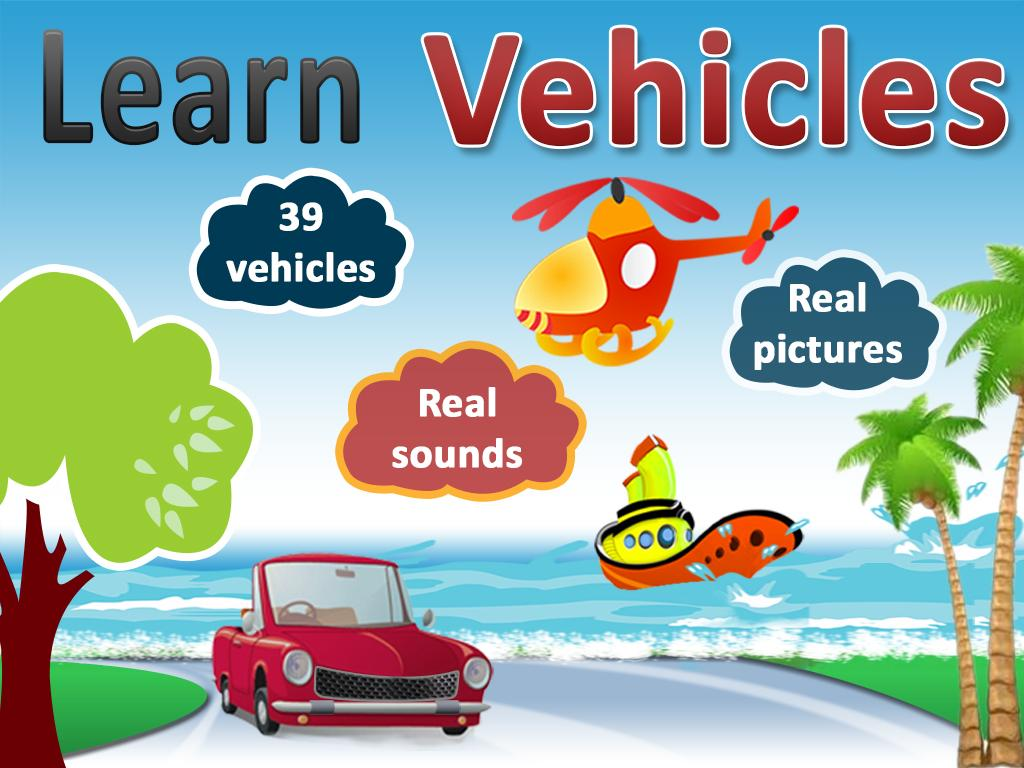 Kids Vehicle sounds & pictures - screenshot
