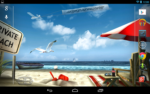 My Beach HD Free 2.0 app download 1