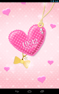 pink heart LiveWallpaper- screenshot thumbnail