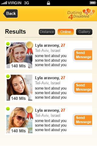 free socialize disable dating site