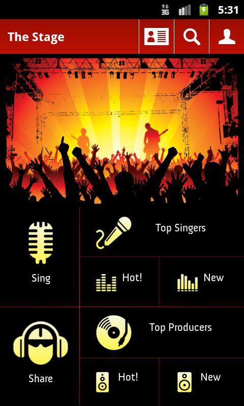 The Stage Singing Studio Pro- screenshot