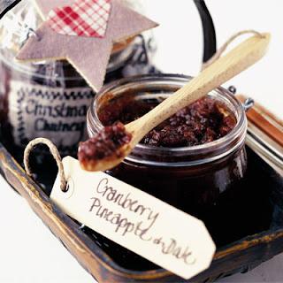 Cranberry, Pineapple & Date Chutney