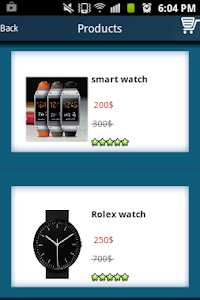 Shopping Online Demo screenshot 1