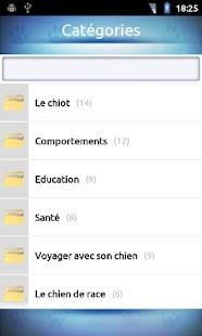 FAQ Eduquer son chien- screenshot thumbnail