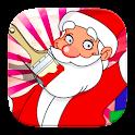 Jogos de Colorir Papai Noel icon