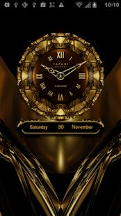 HAMOND Designer Clock Widget HD - náhled