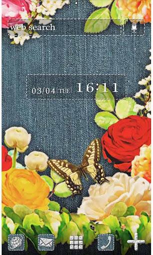 Cute Theme-Denim Floral- 1.0 Windows u7528 1