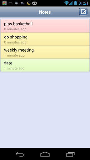 Color Notes - Todo List