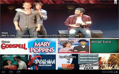 BroadwayWorld - screenshot thumbnail