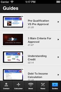 Carol DeFazio's Mortgage Mapp - screenshot thumbnail