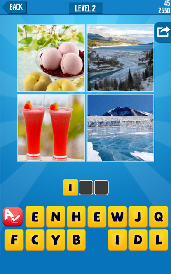 Word4Pics: 4 Pics 1 Word  HD - screenshot