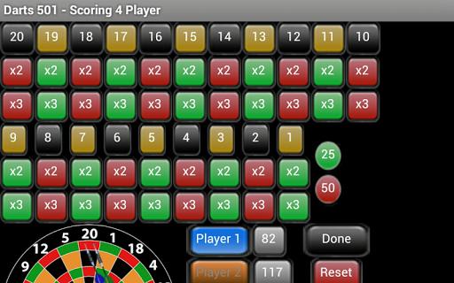 Darts 301 Scoring - Free