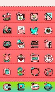 Meow Meow GO Launcher Theme - screenshot thumbnail