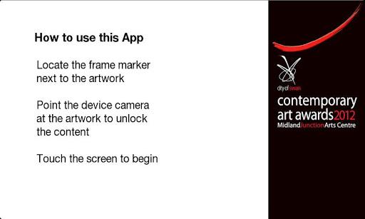 Swan Art Awards App 2012