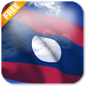 3D Laos Flag Live Wallpaper icon
