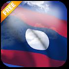 3D Laos Flag Live Wallpaper icon