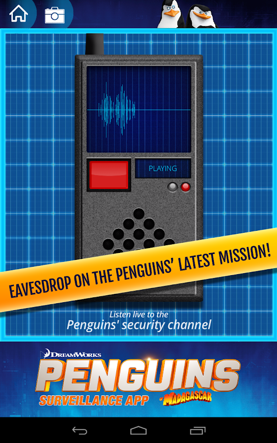 Penguins Surveillance App - screenshot