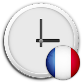 France Clock & RSS Widget