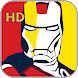 Paint Iron Man HD
