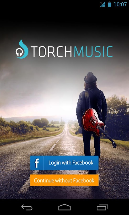 Torch Music - screenshot