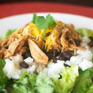 Copycat Cafe Rio Sweet Pork Barbacoa Salads