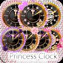 キラ姫☆小悪魔系目覚まし時計ウィジェットパック icon