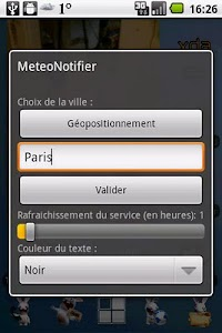 MeteoNotifier screenshot 0