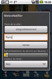 MeteoNotifier- screenshot thumbnail