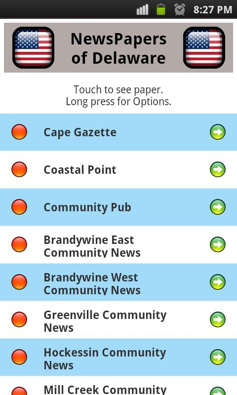 All Newspapers Delaware - Free - screenshot