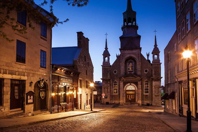 Notre-Dame-de-Bon-Secours Chapel in Old Montreal.