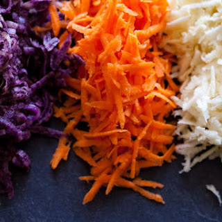Root Vegetable Fritters.