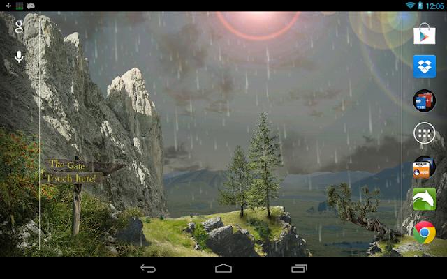 Nature Live Wallpaper - screenshot