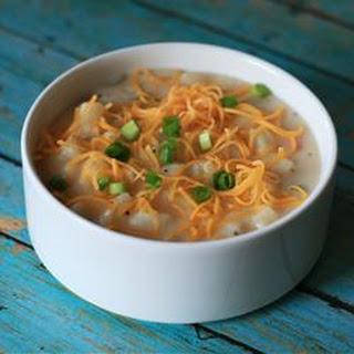 Reduced Fat Potato Soup.