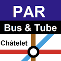 Paris Bus Metro Train Maps icon