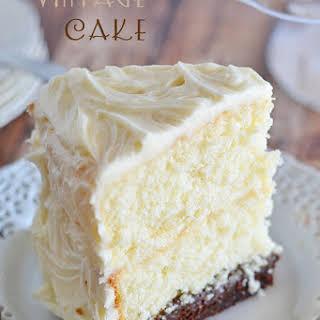 Vintage Cake.