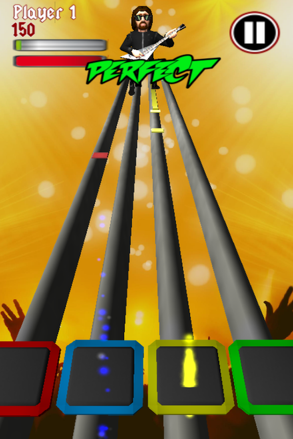 Rock Music Hero - screenshot