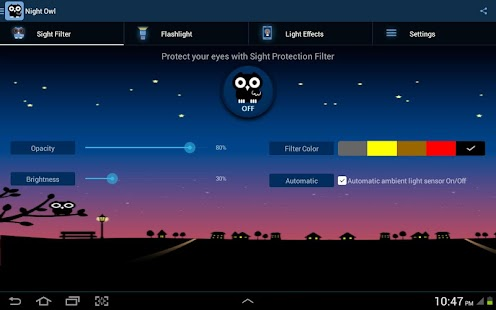 Night Owl-Bluelight Cut Filter Screenshot