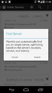 Plumble - Mumble VOIP - screenshot thumbnail