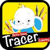 My Preschool Tracer Coloring