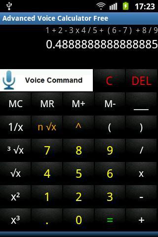 Advanced Voice Calculator Free