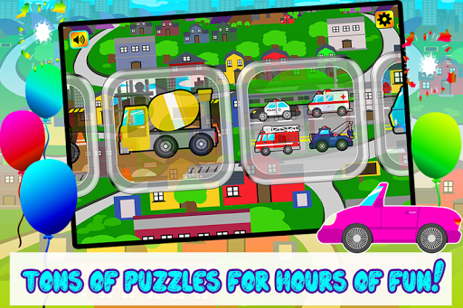 Kids Car Vehicles Puzzle Game