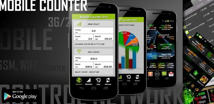 Mobile Counter Pro – 3G, WIFI v3.2 Apk Full App