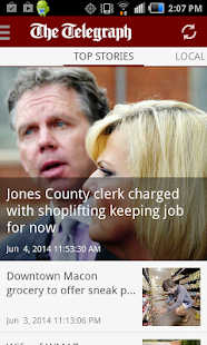The Telegraph - Macon, GA news- screenshot thumbnail