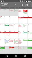 Screenshot of aCalendar+ Calendar & Tasks