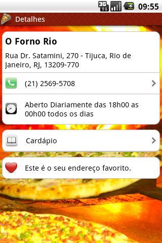 O Forno Rio - screenshot