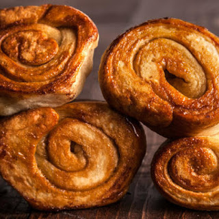 Cinnamon Pizza-Dough Rolls